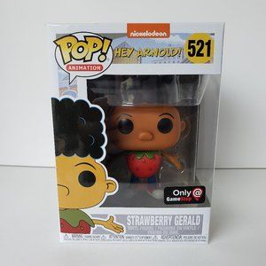 Funko Pop! Animation Hey Arnold! Strawberry Gerald